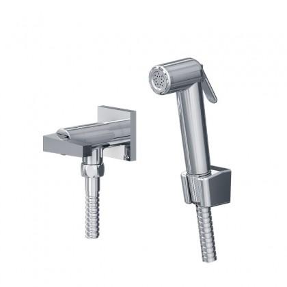 Ducha Higienica Com Deroivador Para Caixa Acoplada Gatilho ABS Flexivel Cromado 1745 1/2 C222 Linha Bella Classica 222 Fani