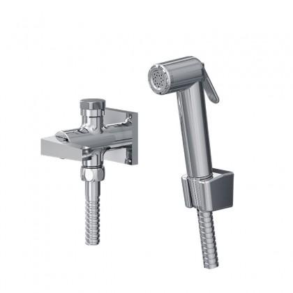 Ducha Higienica Com Derivador Para Caixa Acoplada Gatilho ABS Flexivel Cromado 1745 1/2 C220 Linha Bella 220 Fani