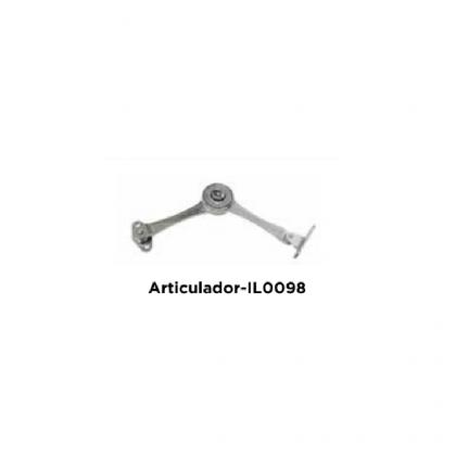Articulador IL0098-1432 em Alumínio Acetinado Italy Line