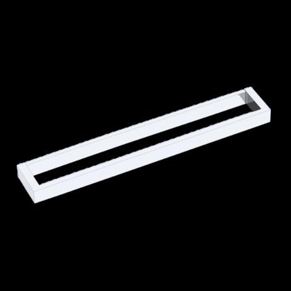 Porta Toalha de 600mm em Latão Cromado Linha Dalian 13122 Italy Line