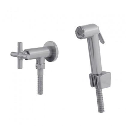 Ducha Higienica Com Gatilho ABS Flexivel Cromado 1739 1/2 C180 Linha Jade 180 Fani