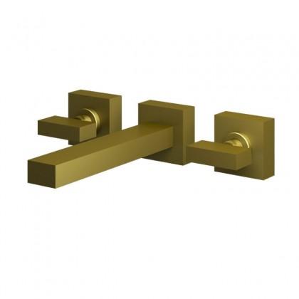 Misturador Para Lavatorio Parede Dourado 1878 1/2 DV450 Linha Horus 450 Fani