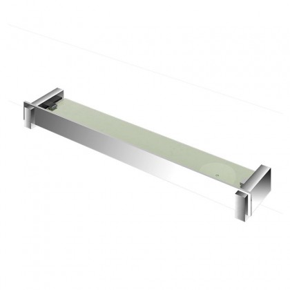 Porta Xampu Com Saboneteira Cromado 4710 537mm C150 Linha Onix 150 Fani