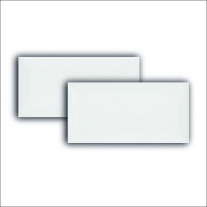 Revestimento Metro White 10x20cm Retificado Brilhante Extra Eliane