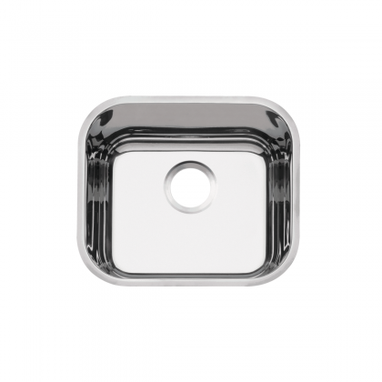 Cuba de embutir Lavínia 40 BL em aço inox alto brilho 40x34 cm 94020206 Tramontina