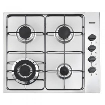Cooktop New Square 4GX TRI 60 em aço inox com 4 queimadores 94701211 Tramontina