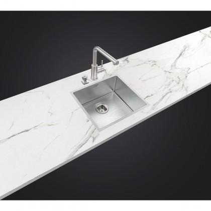 Cuba Design Quadrum em Aço Inox com Acabamento Scotch Brite 45x40 cm Collection 94006103 Tramontina