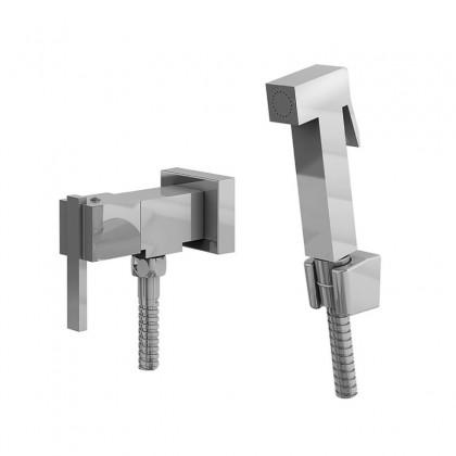 Ducha Higienica Com Gatilho Metal Flexivel Cromado 1739 1/2 C400 Linha Platina 400 Fani