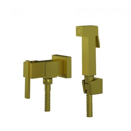 Ducha Higienica Com Gatilho Metal Flexivel Dourado 1739 1/2 DV400 Linha Platina 400 Fani
