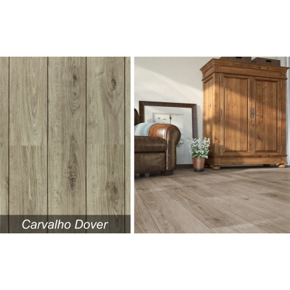 Piso Laminado Studio Carvalho Dover - Durafloor - M²