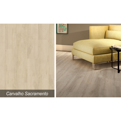 Piso Laminado Floorest Première Carvalho Sacramento - Quick Step - M²