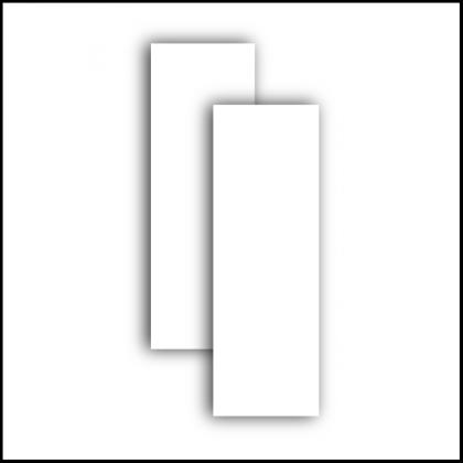 Revestimento Imperial White 30x90cm Retificado Brilhante Extra Delta