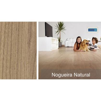 Piso Laminado Prime Nogueira Natural Eucafloor - Instalado* - m²
