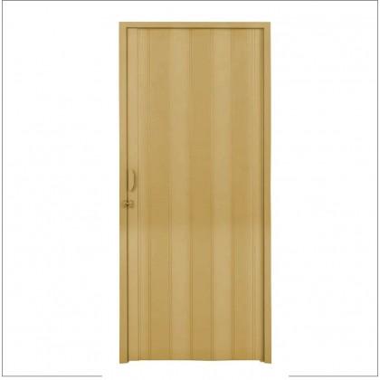 Porta Sanfonada Bege 210x80cm Quimiplast
