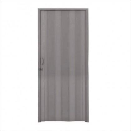 Porta Sanfonada Cinza 210x80cm Quimiplast