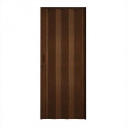 Porta Sanfonada Marrom 210x80cm Quimiplast