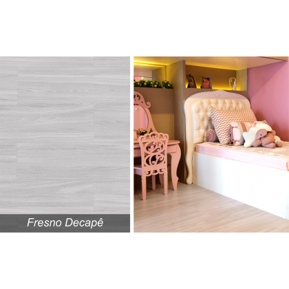 Piso Laminado Prime Fresno Decapê - Eucafloor - M²