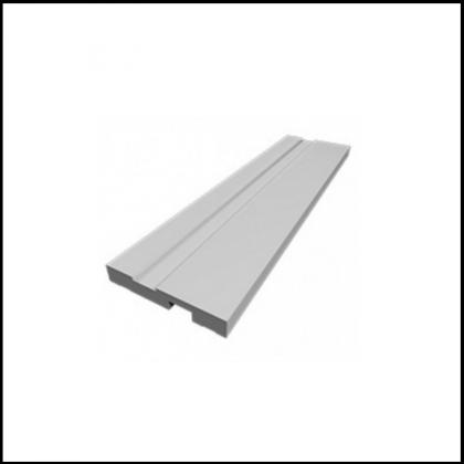 Rodapé PVC Branco 100X1800X15mm Quimiplast
