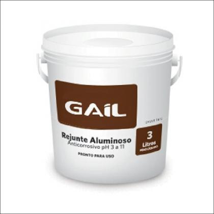 Rejunte Aluminoso 3kg - Gail