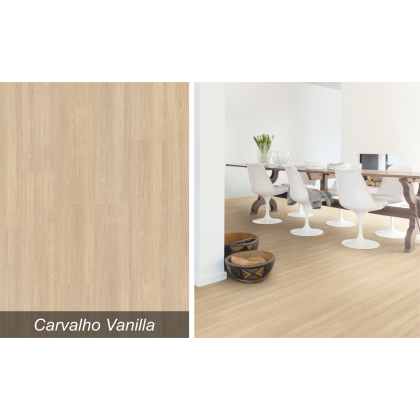 Piso Laminado Smart Carvalho Vanilla - Quick Step - M²