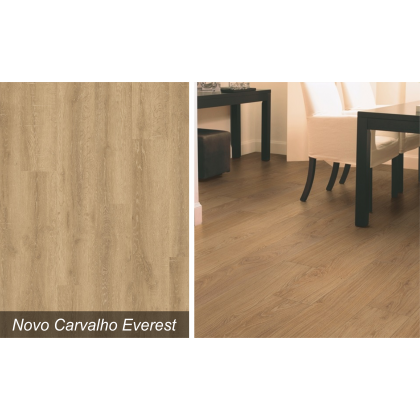 Piso Laminado Smart Novo Carvalho Everest - Quick Step - M²