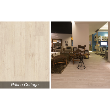 Piso Laminado Smart Pátina Cottage - Quick Step - M²