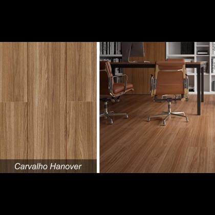 Piso Laminado Studio Carvalho Hanover - Durafloor - M²